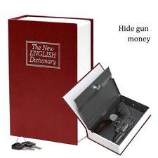 Il NUOVO DIZIONARIO INGLESE segreto nascosto al sicuro Booksafe Rosso