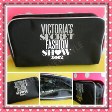 Victoria's Secret 2012 Fashion Show BLACK Cosmetics Bag NEW