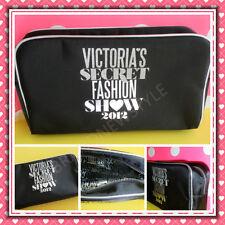 Victoria's Secret 2012 Fashion Show BLACK Cosmetics Bag NEW