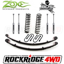 "Zone 3"" Suspension Lift W/ Rear Springs Jeep Cherokee XJ 84-01 Chrysler 8.25 NX2"