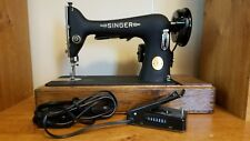 Singer Sewing Machine 66-18 - Great Condition  - New Light, Motor, & Foot Pedal