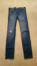 Abercrombie Kids Girls Size 16 Skinny Jeans Stretch Distressed