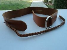 Rare Womens Junya Watanabe Comme Des Garcons Leather Belt Size in Small JA-K304