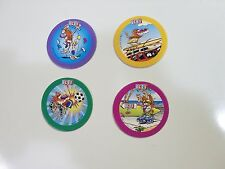 POGS BY POG ARTIC BLAST BLUE BACK SET OF 4 AWESOME