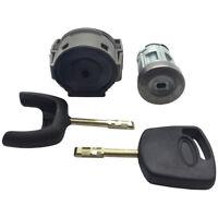 Para Ford Interruptor de Encendido Kit Reparación Cerradura & 2 Llaves