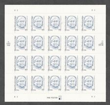 2942 Mary Breckenridge pane of 20 PO Fresh Unfolded Mint NH