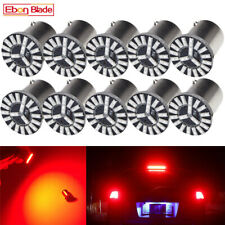 10 x BAY15D 1157 LED P21/5W Red Car Auto Tail Brake Stop Light Lamp Bulb 12V DC