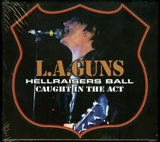 L.A. Guns Hellraisers Ball Caught In The Act CD new