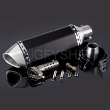 Universal 51MM Motorcycle Exhaust Pipe With Muffler Pot Escape For kawasaki KTM