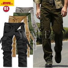 Herren Cargohose AIRBORNE Cargo Pants VINTAGE lässig Army Hose Freizeithose