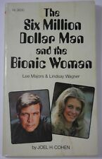 THE SIX MILLION DOLLAR MAN AND THE BIONIC WOMAN SCHOLASTIC PB BOOK LEE MAJORS