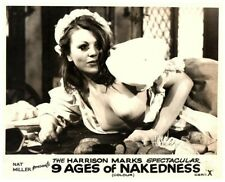 The Nine Ages of Nakedness Original Lobby Card Harrison Marks sexy girl