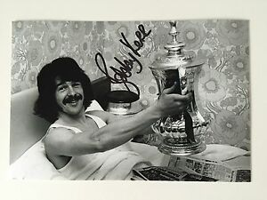 RARE Bobby Kerr Sunderland 1973 Signed Photo + COA AUTOGRAPH