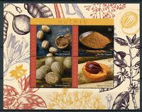 Grenada Nature Stamps 2018 MNH Nutmeg Myristica fragrans Spices Plants 4v M/S