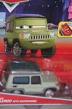 "DISNEY PIXAR CARS 2 ""MILES AXLEROD W/ MICROPHONE"" NEW IN PACKAGE, SHIP WORLDWIDE"