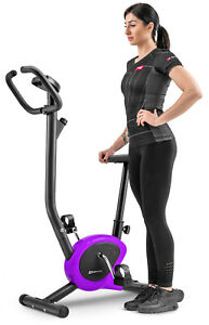Purple Rio Exercise Bike HS Stationary Bike Magnetic Resistance System SALE