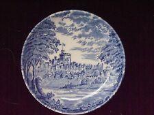 "ENGISH TABLEWARE BY UNICORN Staffordshire England Blue/White 4"" trinket plate"