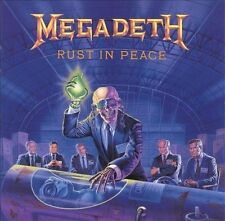 Rust in Peace by Megadeth (CD, Sep-1990, Capitol) VGC FREE POSTAGE