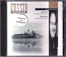 David Oistrakh rottura Scottish Fantasy Berlioz Harold in Italy Rozhdestvensky CD