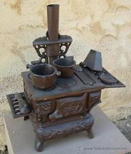 cocina economica de hierro