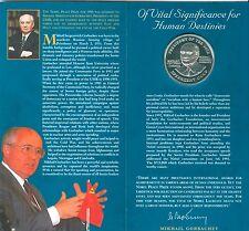 Royal Norwegian Mint - Nobel Peace Prize Medals - 1990 Mikhail Gorbachev