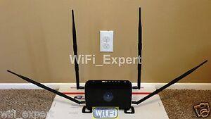 4 x 9dBi Antenna EXTREME Mod Kit Netgear N600 WNDR3400 Dual Gigabit NO SOLDERING