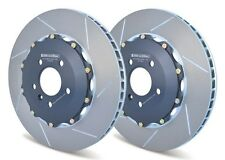 GIRO DISC 355 2-PIECE REAR ROTORS FOR MCLAREN MP4-12C BETTER THAN OEM