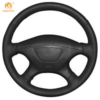 DIY Leather steering Wheel Cover for Mitsubishi Pajero Montero Sport 2004 #MT16