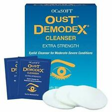 OCuSOFT Oust Demodex Cleanser Pre-Moistened Pads - 30 Pads