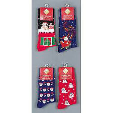 Premier Adult Novelty Christmas Xmas Socks Gift Various Designs - One Random