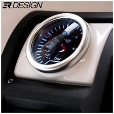 Vauxhall Astra G Mk4 Driver Air Vent Gauge Holder Pod 52mm RHD LHD - Gloss White