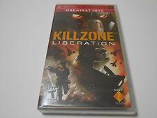 New Sealed Killzone: Liberation Greatest Hits  - Sony PSP ec