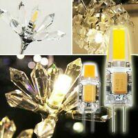4/6/10/20PC G4 COB LED Light 5W 6W Mini Bulb AC/DC 12V Replacement Halogen Lamp