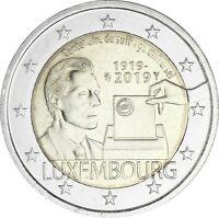 Luxemburg 2 Euro 2019 Allgemeines Wahlrecht von 1919 bankfrisch