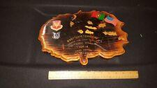 UNIQUE PLAQUE 1994 LAJES AZORES AIRFORC AJES FIELD PORTUGAL 65TH SUPPLY SQUADRON