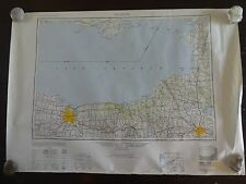 1949 - Large Geographic Map of Rochester, NY - Army Map Service