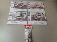 4 Wooden Dollhouse Furniture Kits And Model A Woodcrafter Kit
