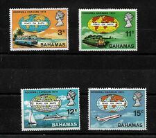 Bahamas, 1970 QEII Goodwill Caravan complete set MNH (B062)