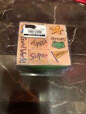 Hero Arts Rubber Woodblock Stamp Set, Student Achievement, Set of 8