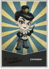 DC Comics Bombshells Copper Deco Lil Bombshells Chase Card L11 Zatanna