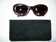 VINTAGE Rare ALAIA Multi Color Frame Sunglasses With a Case Hand Made in France