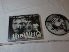 The Who My generation the very best of CD music MCA BMG 1996 Can't Explain bus