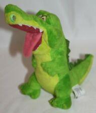 """Disney Store Peter Pan """"Crock"""" Crocodile Plush Bean Bag  8"""" Tic Tock Green"""
