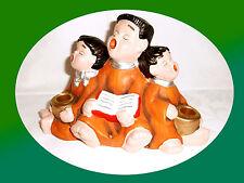 chandelier -kerzenständer pour 2 bougies grès 3 musicales enfants 14 x 23 NEUF