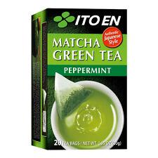 ITOEN Matcha Green Tea Peppermint 20 Tea Bags