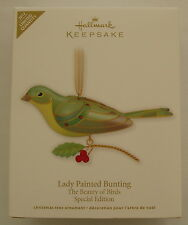 Hallmark 2012 Beauty of Birds Special Limited Edition Lady Painted Bunting
