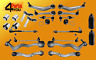 full KIT SET front rear SUSPENSION BMW E60 E61 BALL JOINT ARMS WISHBONE LINKS
