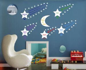 Islamic Pillars of Islam Moon and Stars Wall Sticker Vinyl Eid & Ramadan Gift