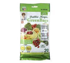 New listing Debbie Meyer Green Bags - Reusable Bpa Free Food Storage Bags 20 pc Variety Pack