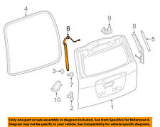 GM OEM Liftgate-Lock Left 23226162